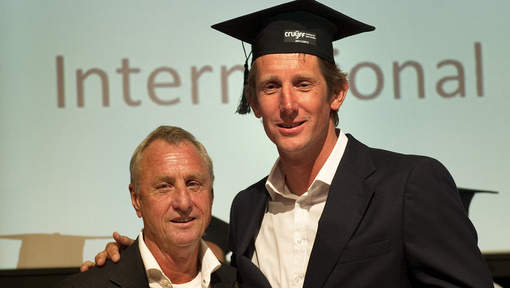 Succesvolle start Cruyff Institute studenten 2014-2015
