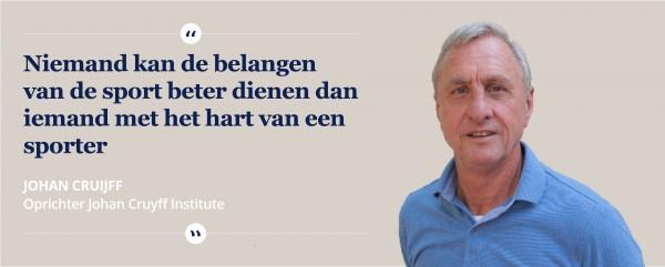 Johan Cruyff University nieuw onderdeel van Hanzehogeschool Groningen