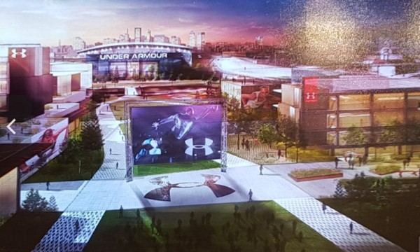 New campus Under Armour South Baltimore