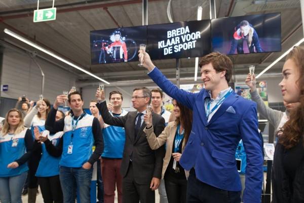 Decathlon Breda officieel geopend