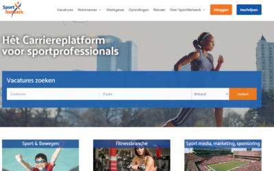 SportNetwerk lanceert nieuwe website
