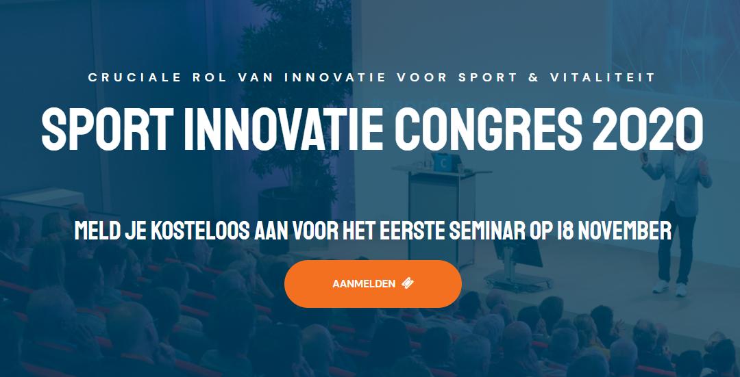 17e Sport Innovatie Congres gaat online